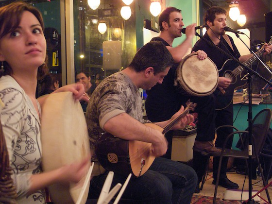 Turkish musicians Group Truva.